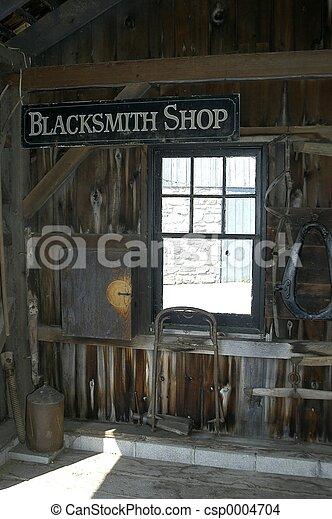 Blacksmith Shop - csp0004704