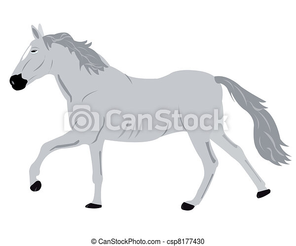 blanc, dessin, fond - csp8177430
