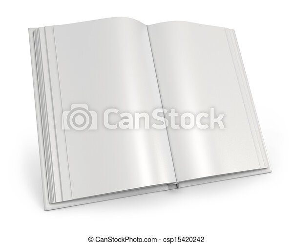 Blanc Livre Ouvert