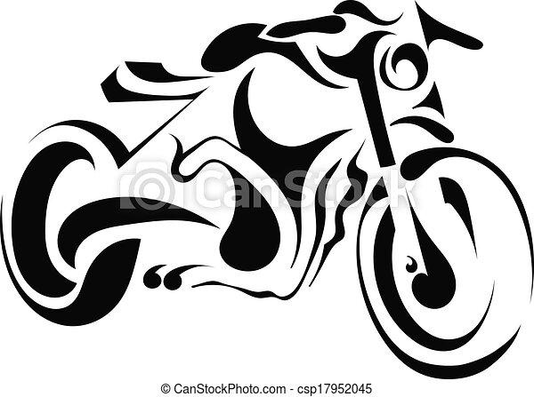 Blanc moto fond vecteur eps rechercher des clip art - Dessin moto simple ...