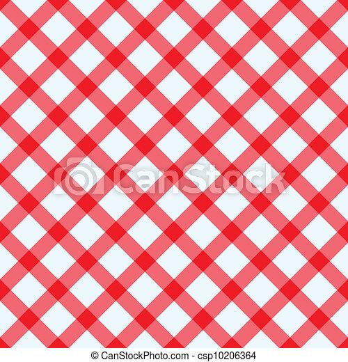 blanc, nappe, rouges - csp10206364