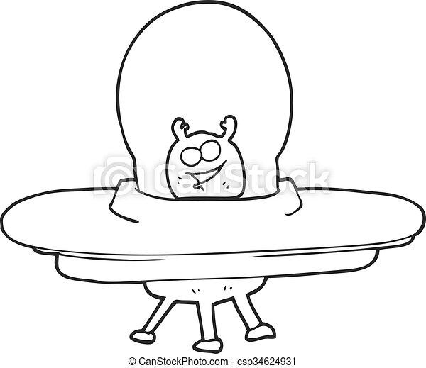 Blanc noir dessin anim vaisseau spatial dessin anim noir freehand dessin blanc - Dessin vaisseau spatial ...