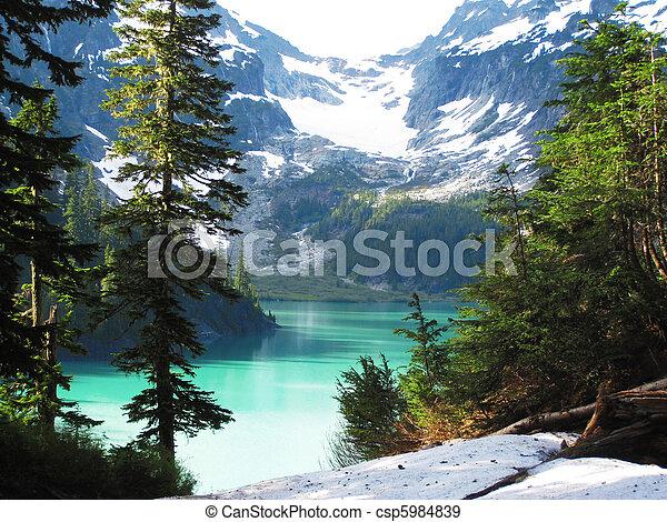 Blanca Lake, Washington State - csp5984839