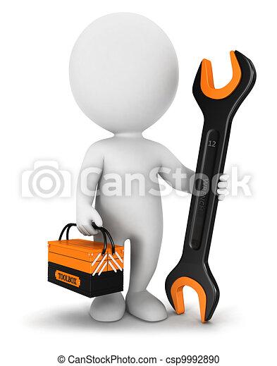 Reparador de blancos 3D - csp9992890