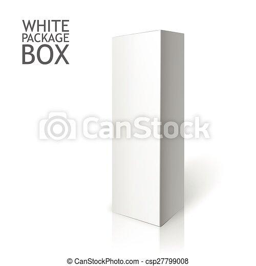 Caja blanca. Maquillaje - csp27799008