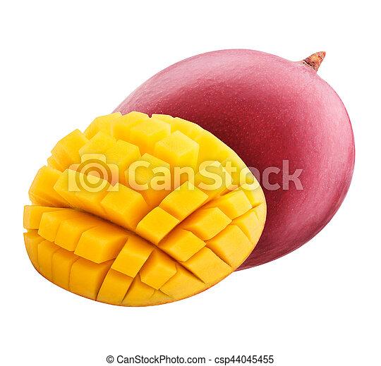 Mango aislado en el fondo blanco - csp44045455