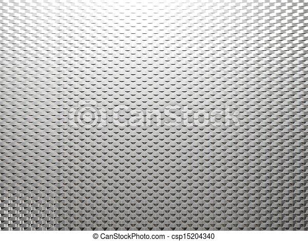 Trasfondo de metal blanco - csp15204340