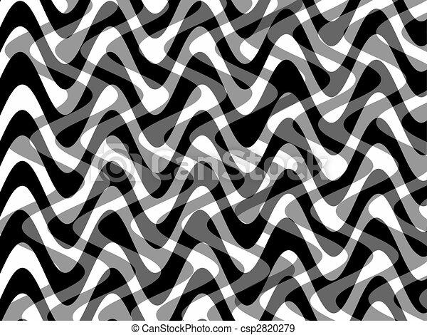 Retro de fondo blanco y negro - csp2820279