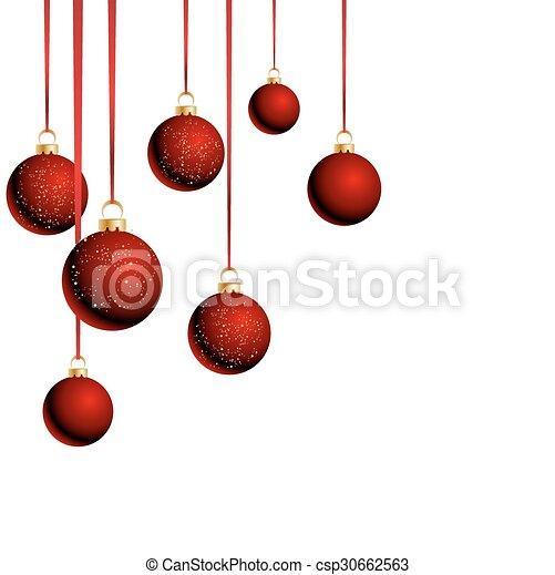 Blanco pelotas cintas navidad plano de fondo Pelotas plano de