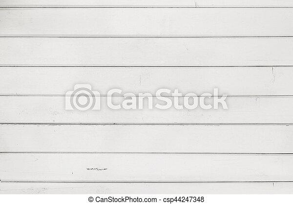 Fondo de textura de madera blanca - csp44247348