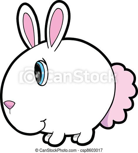 Vector de conejo blanco - csp8603017