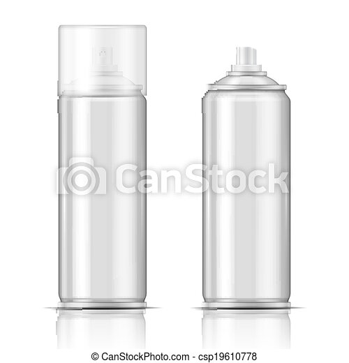 Blank Aluminium Spray Can Template Blank Aluminium Spray Can