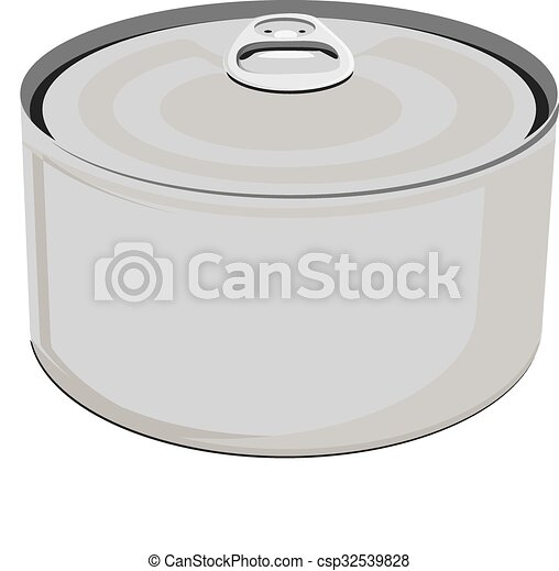 Blank aluminum can - csp32539828