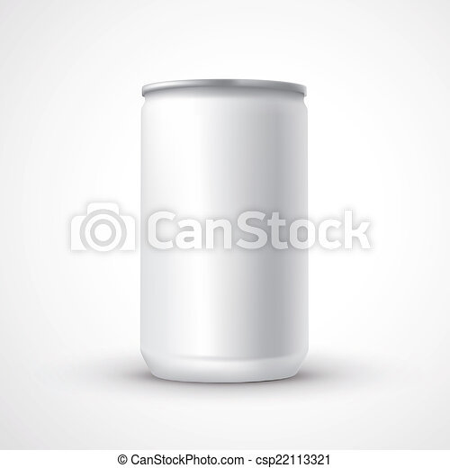blank aluminum can template - csp22113321