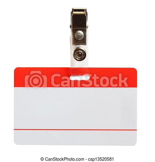 Blank badge - csp13520581