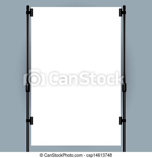 Blank banner display - csp14613748