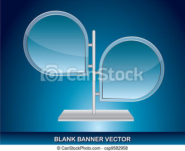 blank banner  - csp9582958