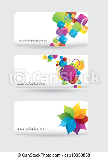 blank banners - csp10350858