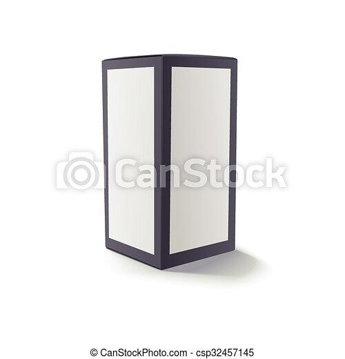 Blank black box isolated - csp32457145