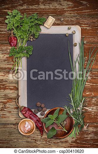 Blank blackboard - csp30410620