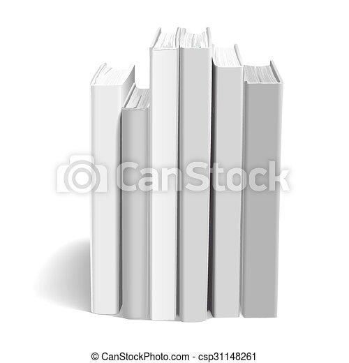blank books - csp31148261
