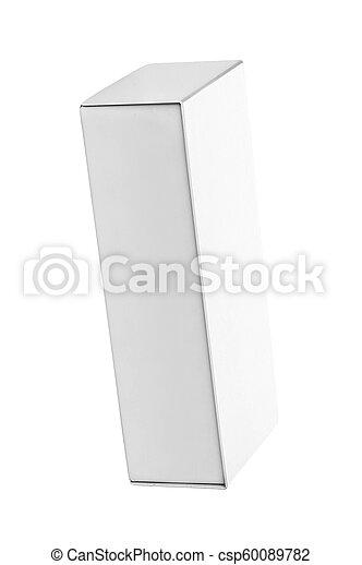Blank box isolated - csp60089782
