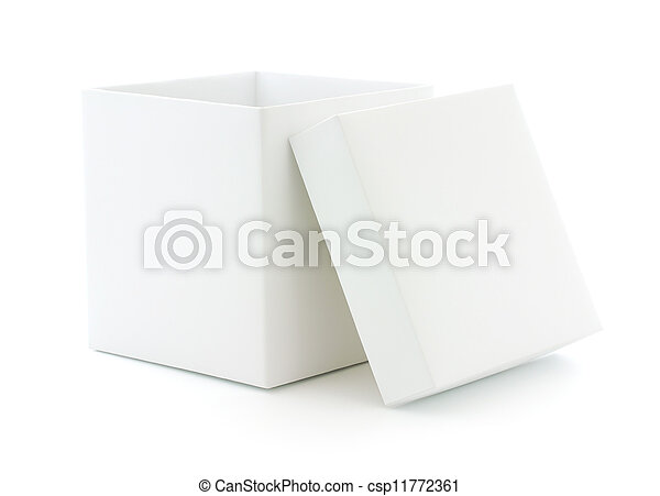 Blank Box - csp11772361