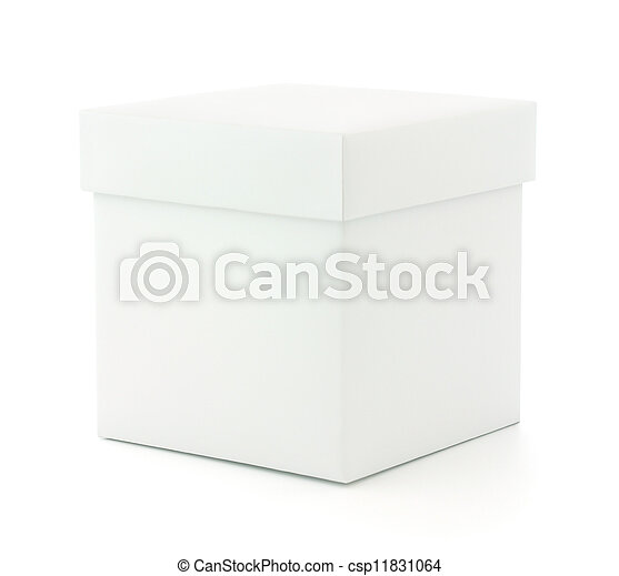 Blank Box - csp11831064