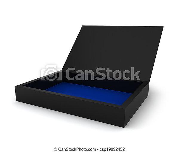 Blank box - csp19032452