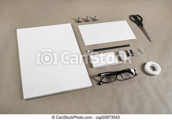 Blank branding template - csp50873543