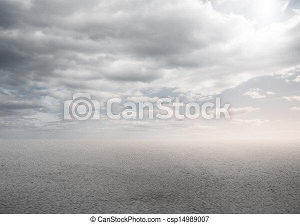 Blank bright desert - csp14989007