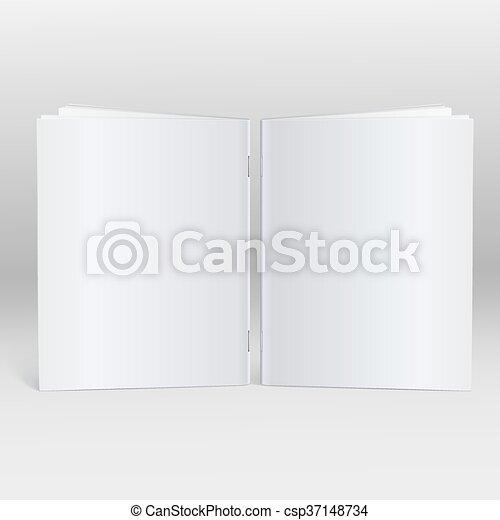 Blank Brochure Template Mockup Blank Brochure Magazine - Blank brochure templates