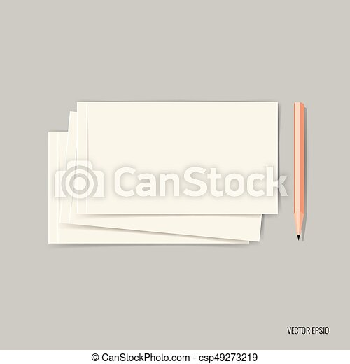 Blank business card blank mockup design vector vector clip art blank business card blank mockup design vector illustration reheart Image collections