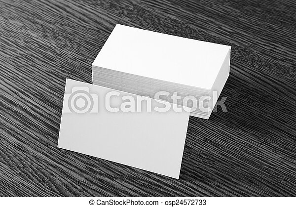 blank business cards - csp24572733