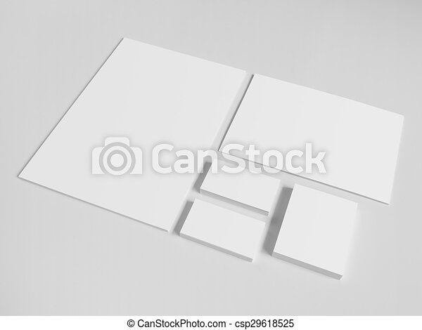Blank business cards with a pile of papers and envelopes mockup on blank business cards with a pile of papers and envelopes mockup on white background reheart Gallery