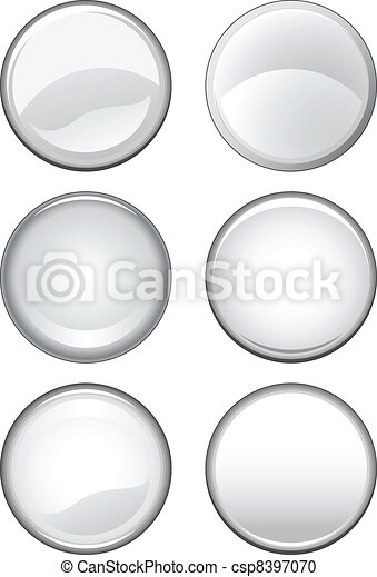 Blank Buttons - csp8397070
