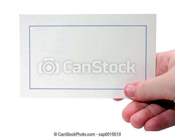 Blank Card - csp0015510
