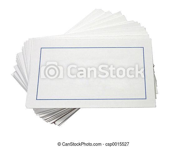 Blank Cards - csp0015527