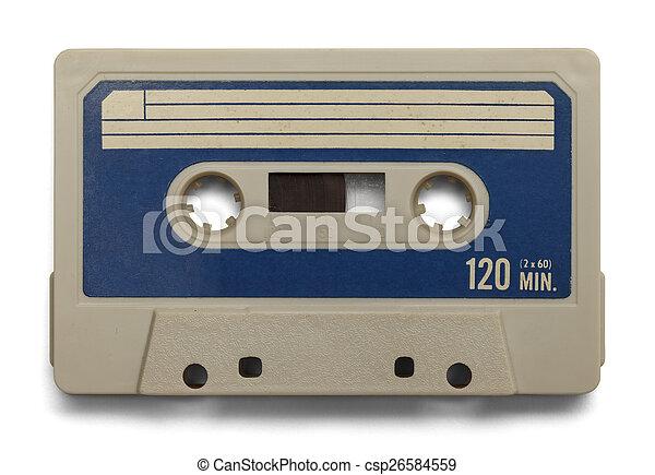 Blank Cassette - csp26584559