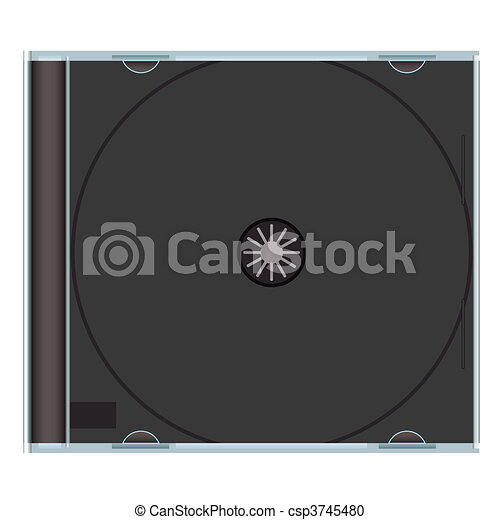 Blank Cd Case Black Clear Music Cd Case With Black Plastic