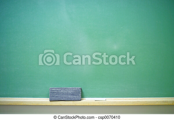 Blank Chalkboard-horizontal - csp0070410