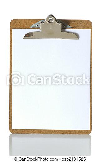 Blank Clipboard - csp2191525
