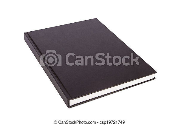 blank closed book perspective view of blank closed book for your