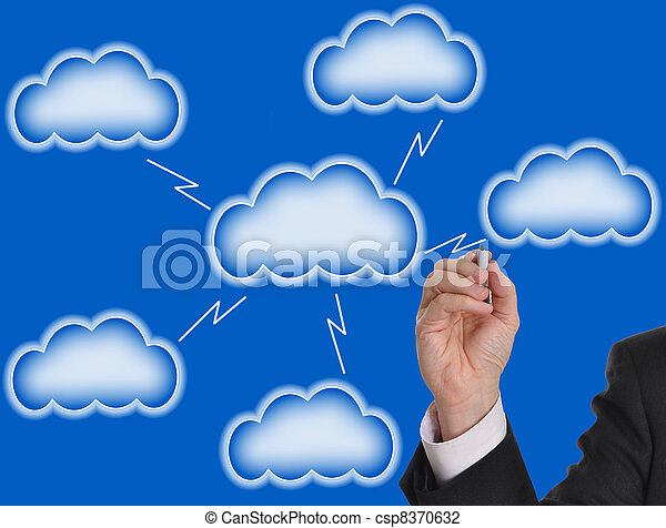 Blank cloud computing - csp8370632