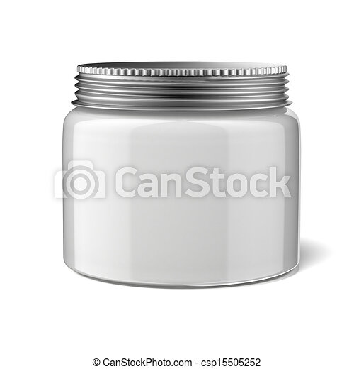 Blank cosmetic container - csp15505252
