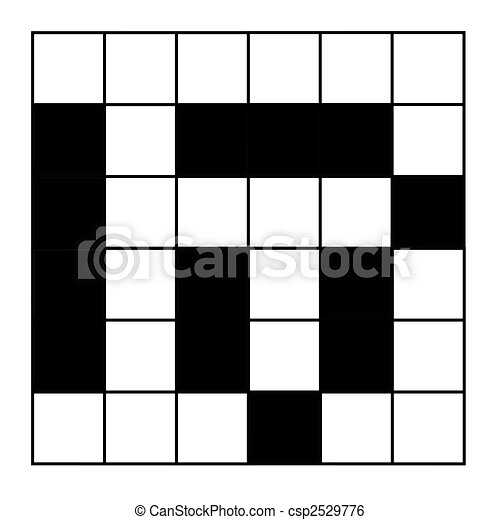 Blank Crossword Puzzle With Word Help
