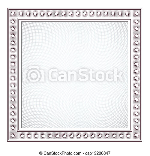 Blank Diploma Frame Template - csp13206847