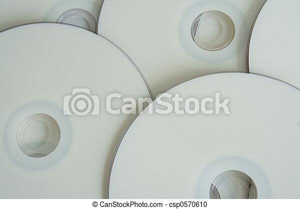 Blank DVD background - csp0570610