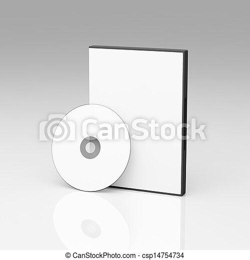 Blank DVD case - csp14754734