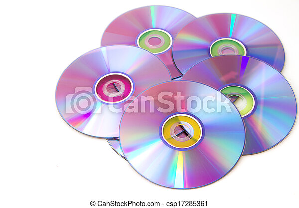 blank dvd discs - csp17285361